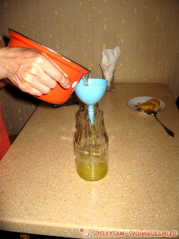 we pour
