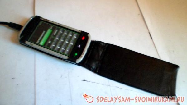 Изготовление чехла для сенсорного мобильного телефона