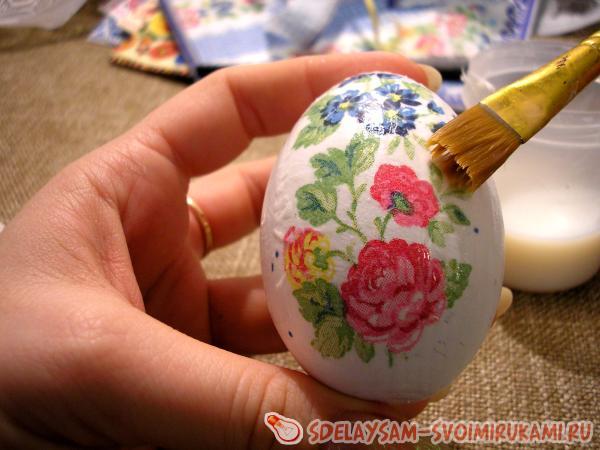 Декупаж яиц