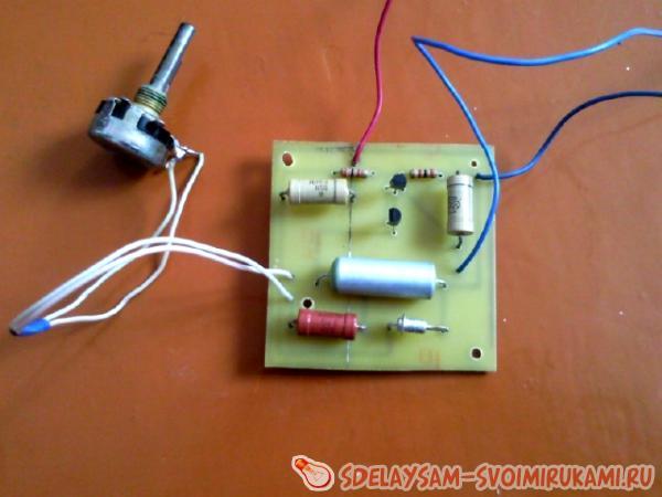 Схема зарядника для аккумулятора 306
