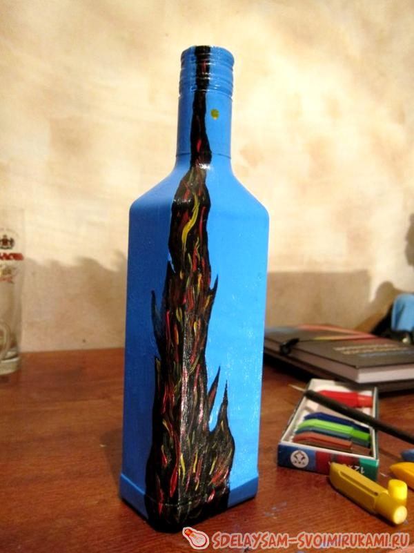 bottle decoration