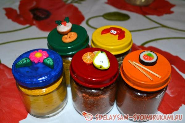 exclusive jars for spices