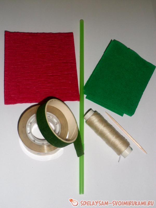 сделайте и с бумагой зелного цвета