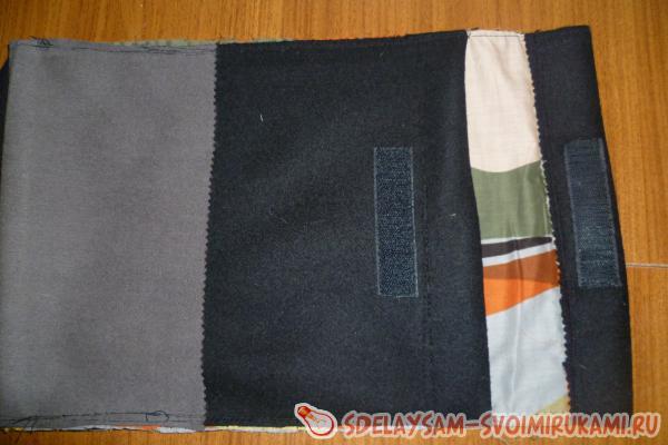 Выкраиваем из подкладочной ткани