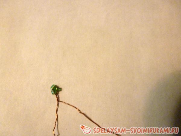 Плетение деревьев из бисера для начинающих