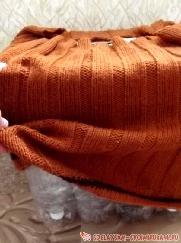 одеваем старый свитер