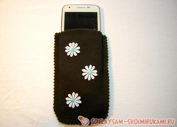 Простой чехла для мобильного телефона