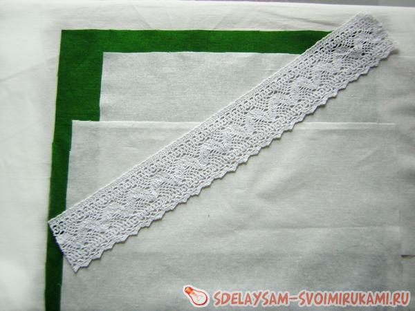 piece of linen lace