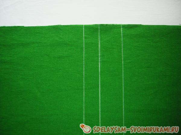 green piece of cloth