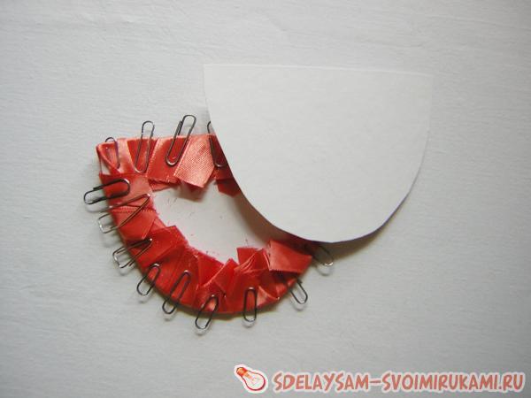 We sew manually
