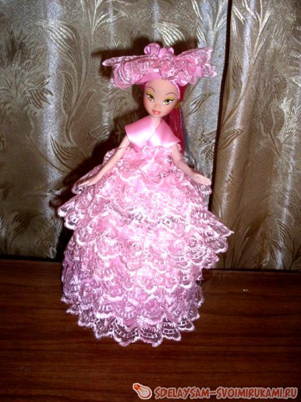 Шкатулка-кукла