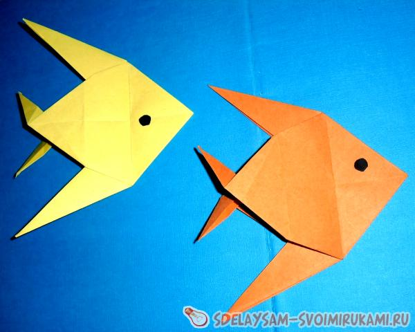 Paper fishes