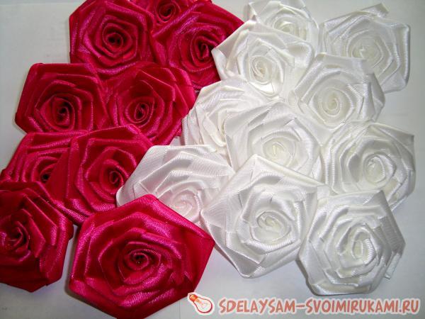 скрученные розы