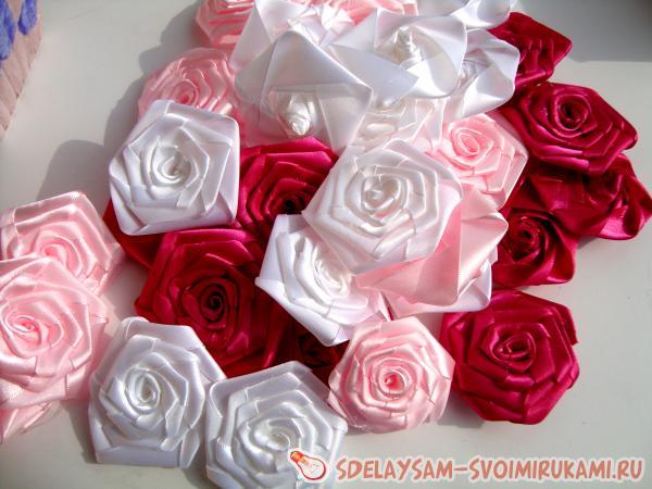 ровные и практически размера розы