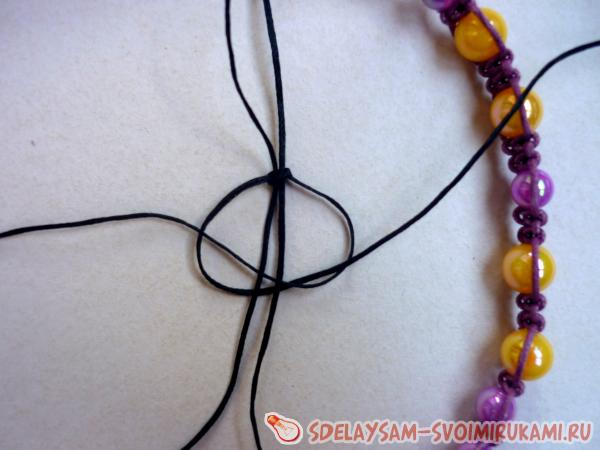 Плетём браслет своими руками