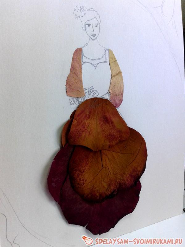 Картины из сухих цветов своими руками с фото 742