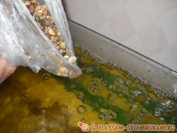 decorate with aquarium primer