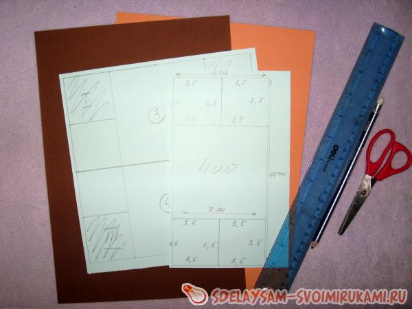 как сделать бесконечную открытку из бумаги поэтапно фетровые
