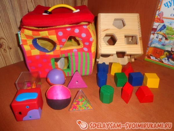 Развивающие игры и занятия с ребенком 2-3 лет