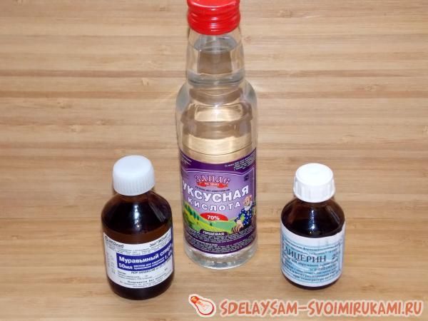 Раствор борной кислоты при лечении ногтей от грибка