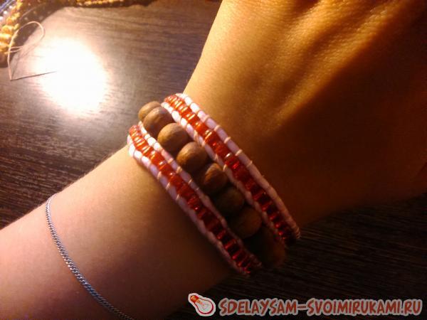 Легкий и оригинальный браслет на руку