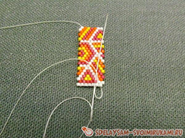 продолжаться плетение