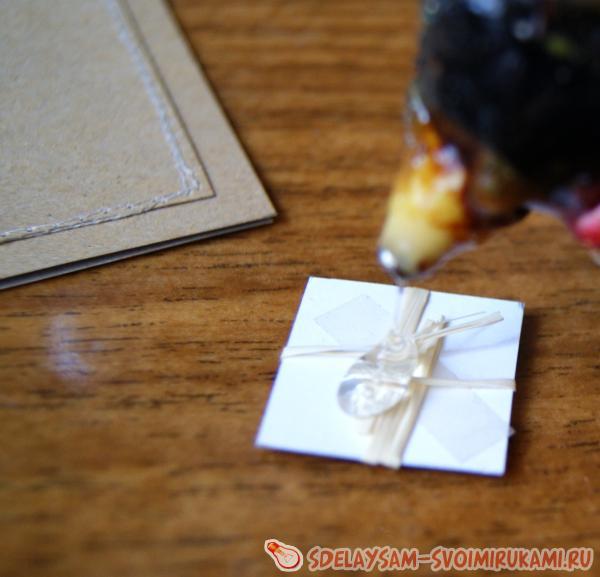 Сделать крафт конверт своими руками