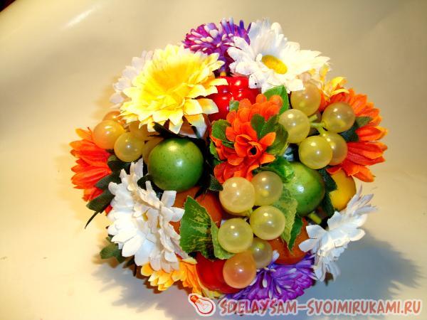 Осенний БУКЕТ - 50 фото композиций из листьев и цветов.