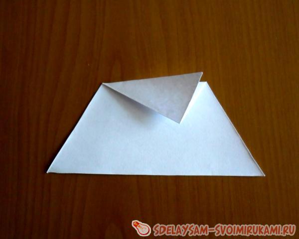 объемный мяч из бумаги