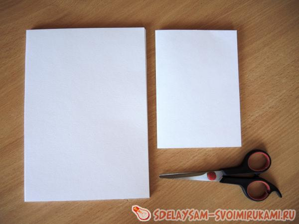 Записная книжка из бумаги