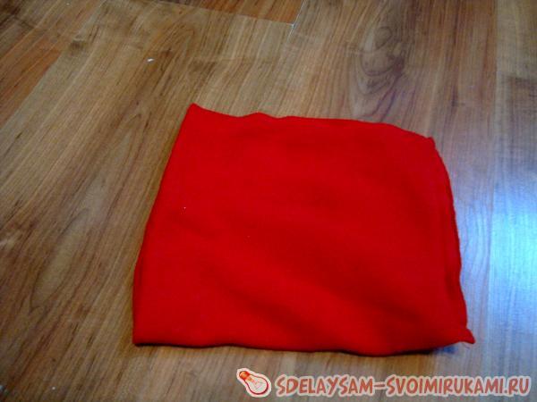 Свадебная подушка для колец с цветами - мастер-класс