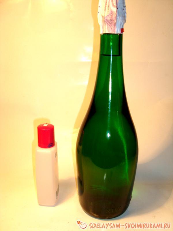 подготовить бутылку