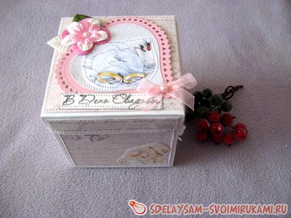 Коробка для денег на свадьбу - 72 фото оригинальных идей