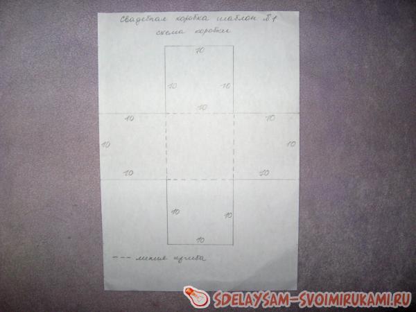 рисуем схему коробочки