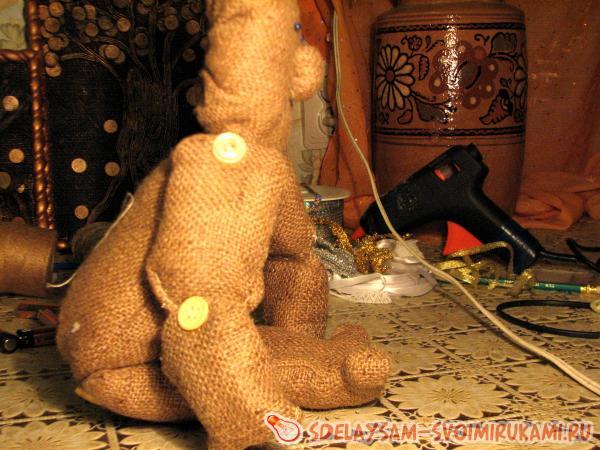 Создаем руки и ноги куклы