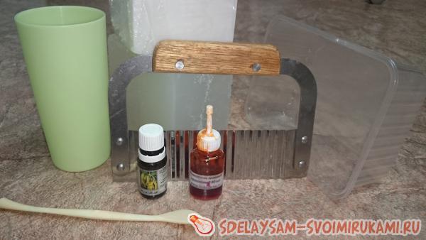 Как сделать кудрявое мыло