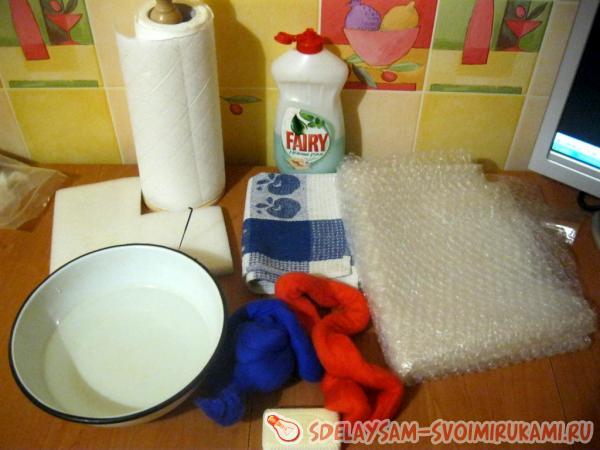 Натуральное мыло-мочалка с люфой. Как самому сделать мыло?