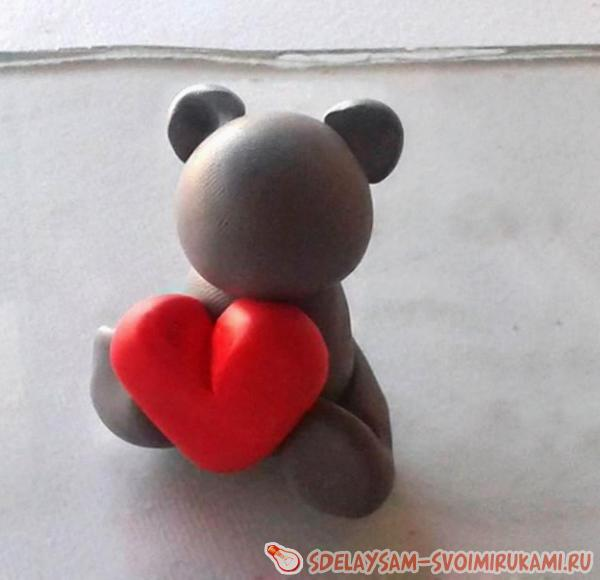 Attach your heart to torso teddy bears