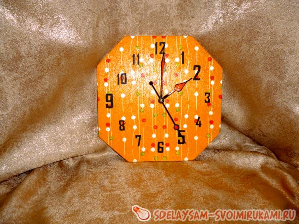 Plywood watch
