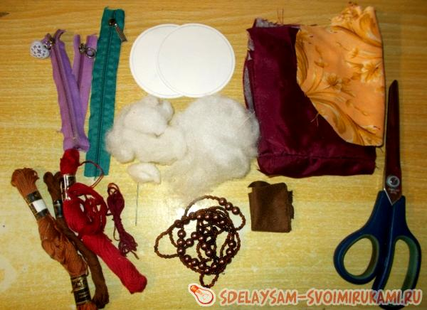 materials for the casket