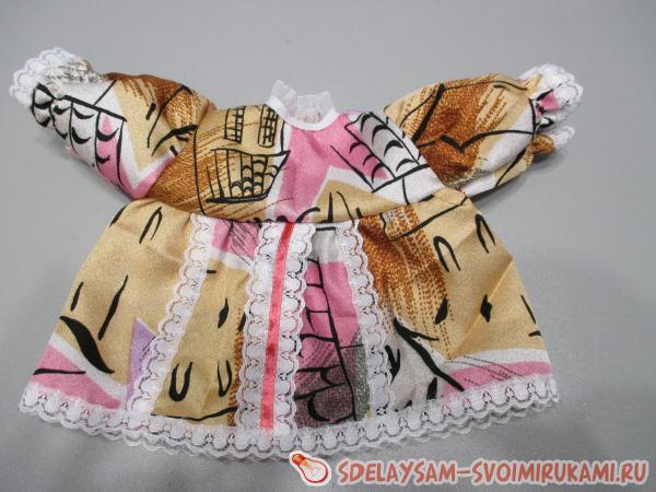 Платье в тон панталонам
