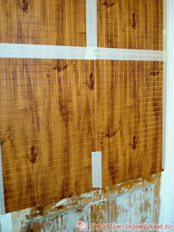 Как обшить дверь панелями пвх своими руками 67