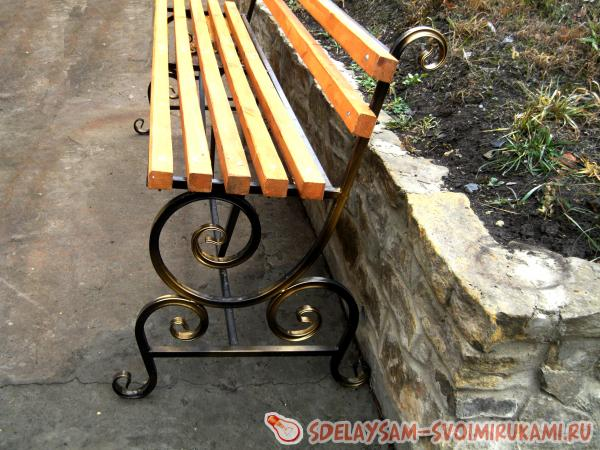forged bench