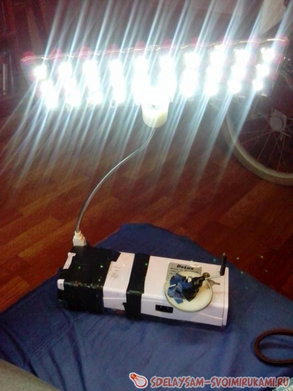 Домашний генератор на 5 и 12 вольт