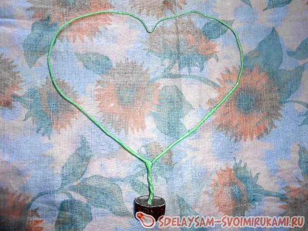 декорированием сердца