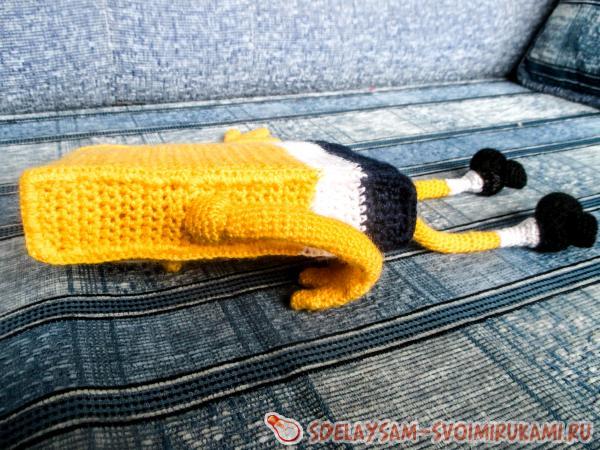 Spongebob crocheted