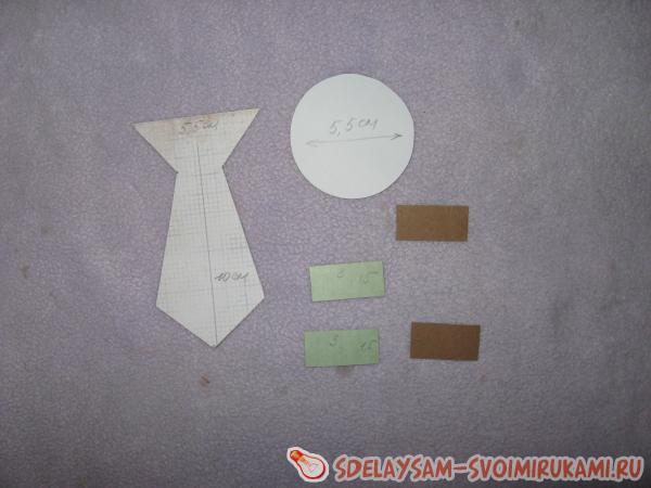 бумажный галстук
