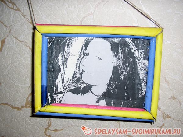 paste the frame