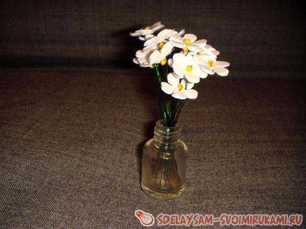 Mini bouquet of daisies
