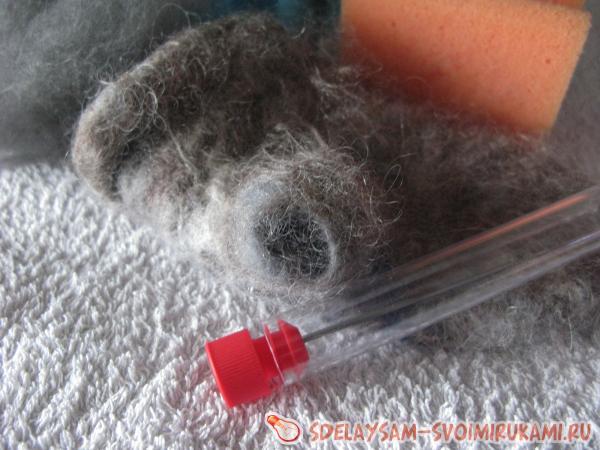 восстановить порванную рукавичку
